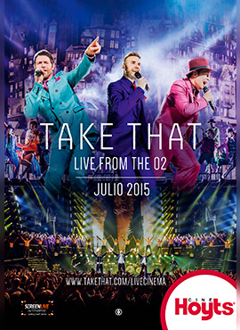 TAKE THAT LIVE FROM THE 02